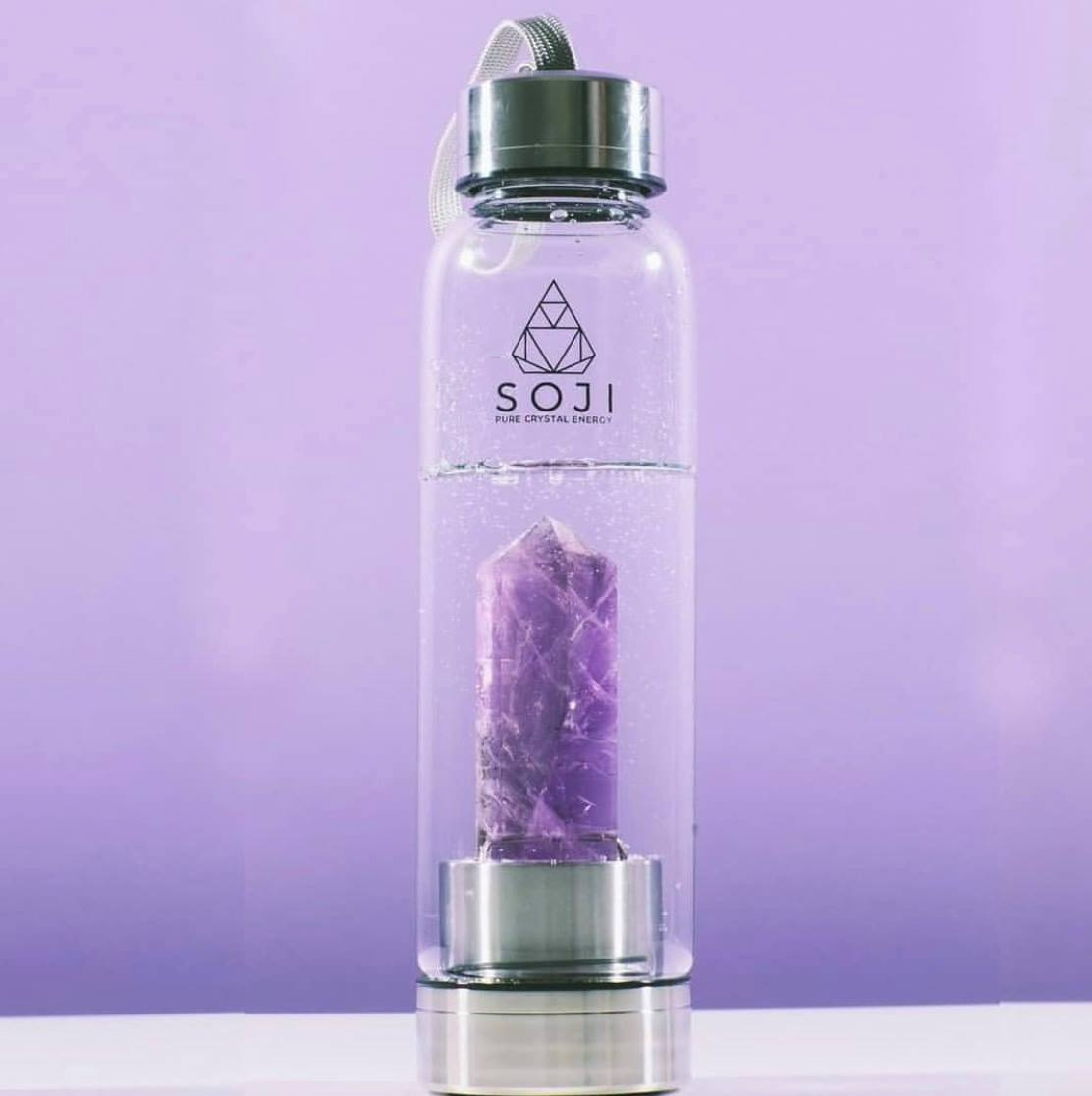 Soji Crystal Elixir Water Bottles sold by Kaitlyn Beaver